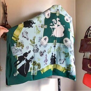 Accessories - Beautiful Vintage Karl Lagerfeld Large Silk Scarf